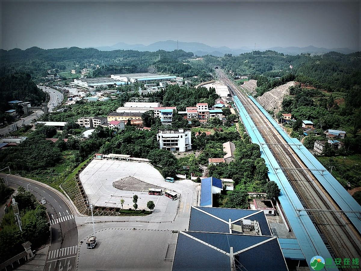 蓬安火车站全貌 - 第6张  | 蓬安在线