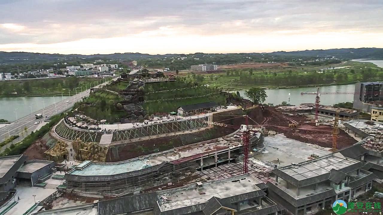 蓬安县凤凰大道江边新貌 - 第7张  | 蓬安在线