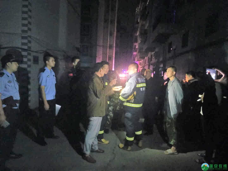 蓬安都市水乡凌晨突发火灾 - 第8张  | 蓬安在线