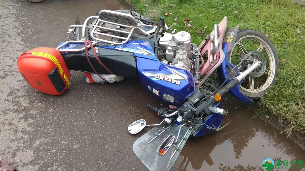 蓬安县河舒工业园区桂花路发生两摩托车相撞 - 第9张  | 蓬安在线