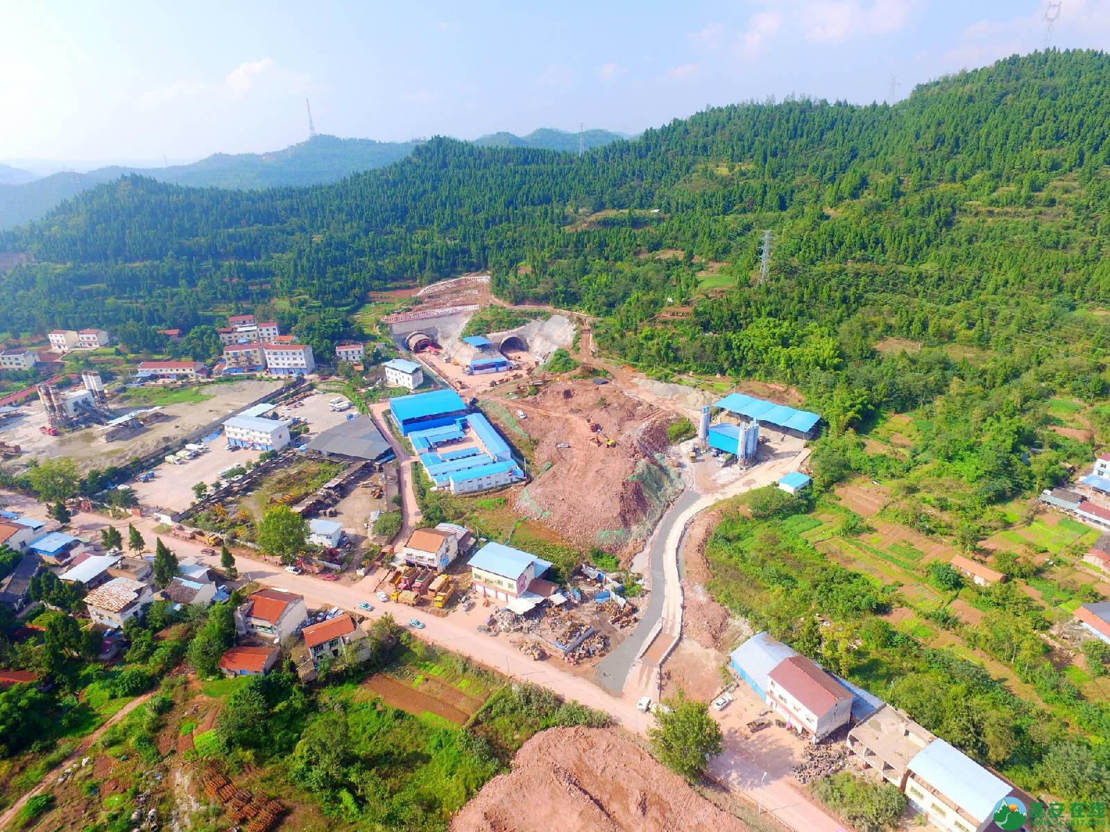 蓬安县绕城北路锦屏段、城东路段最新进展(2018年10月14日) - 第6张  | 蓬安在线