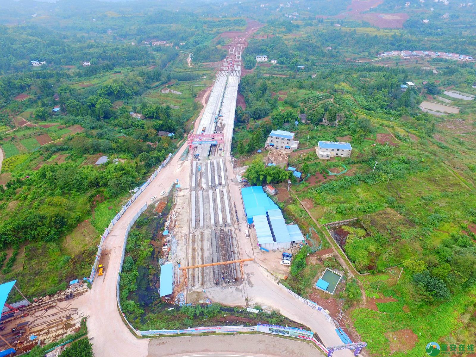 蓬安县绕城北路锦屏段、城东路段最新进展(2018年10月14日) - 第3张  | 蓬安在线