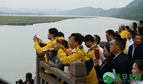 大型纪录片《嘉陵江》文化旅游考察团走进蓬安县 - 第2张  | 蓬安在线