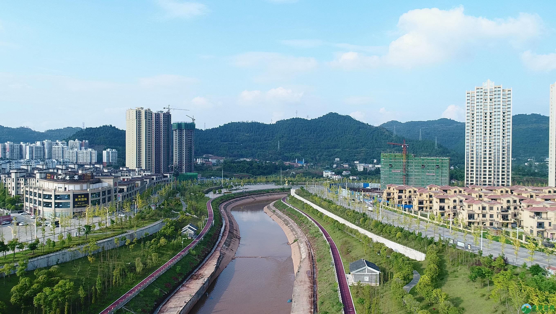 蓬安滨河新城新相貌 - 第2张  | 蓬安在线