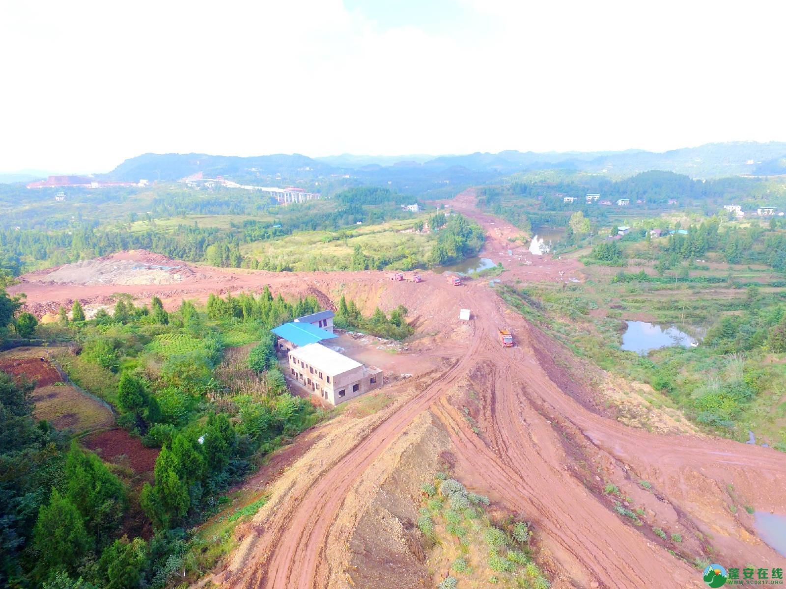 蓬安县绕城北路锦屏段、城东路段最新进展(2018年10月14日) - 第17张  | 蓬安在线
