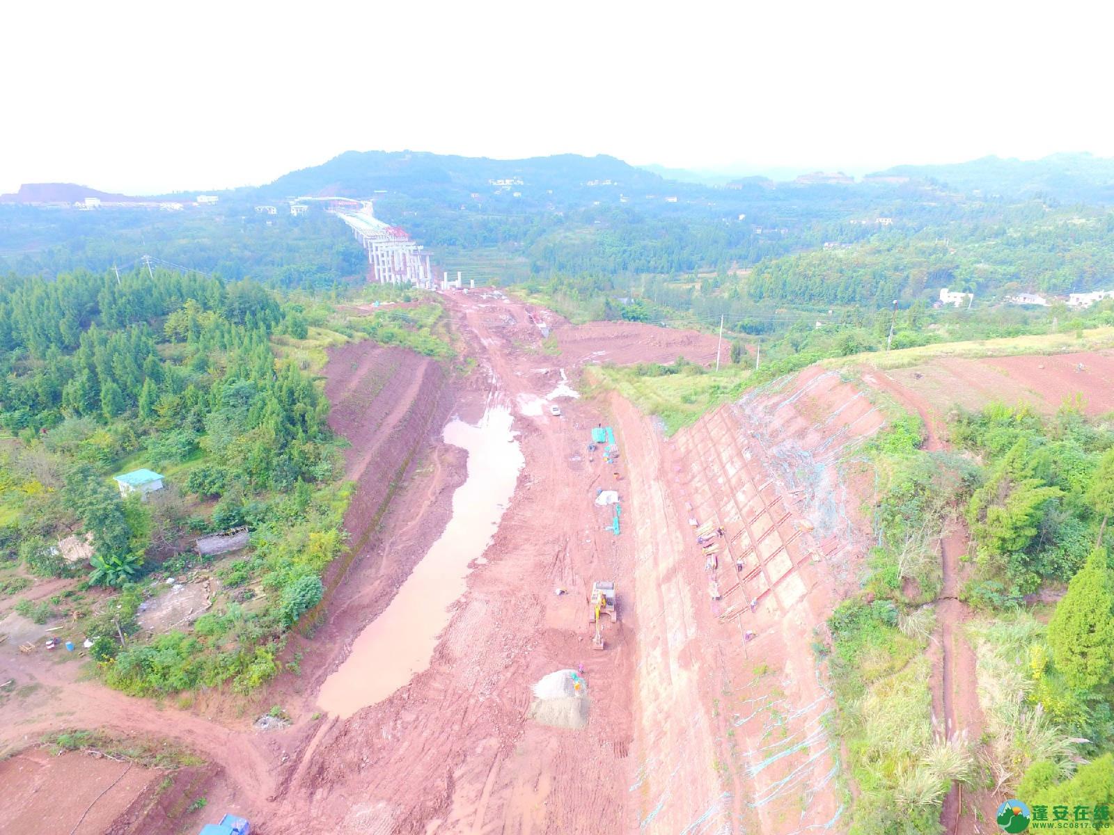 蓬安县绕城北路锦屏段、城东路段最新进展(2018年10月14日) - 第13张  | 蓬安在线