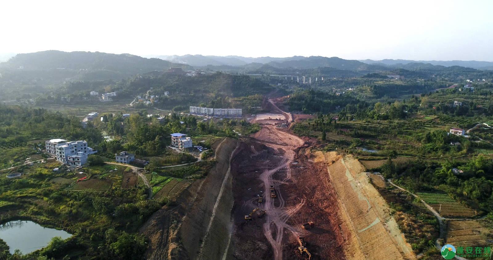 凤凰大桥西延线工程进展(2018年11月3日) - 第11张  | 蓬安在线