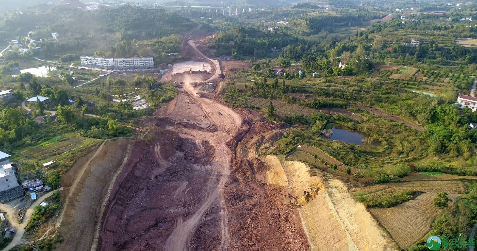 凤凰大桥西延线工程进展(2018年11月3日) - 第12张  | 蓬安在线