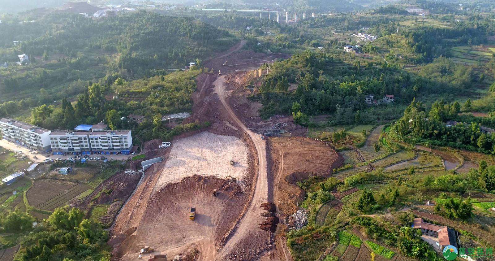 凤凰大桥西延线工程进展(2018年11月3日) - 第13张  | 蓬安在线