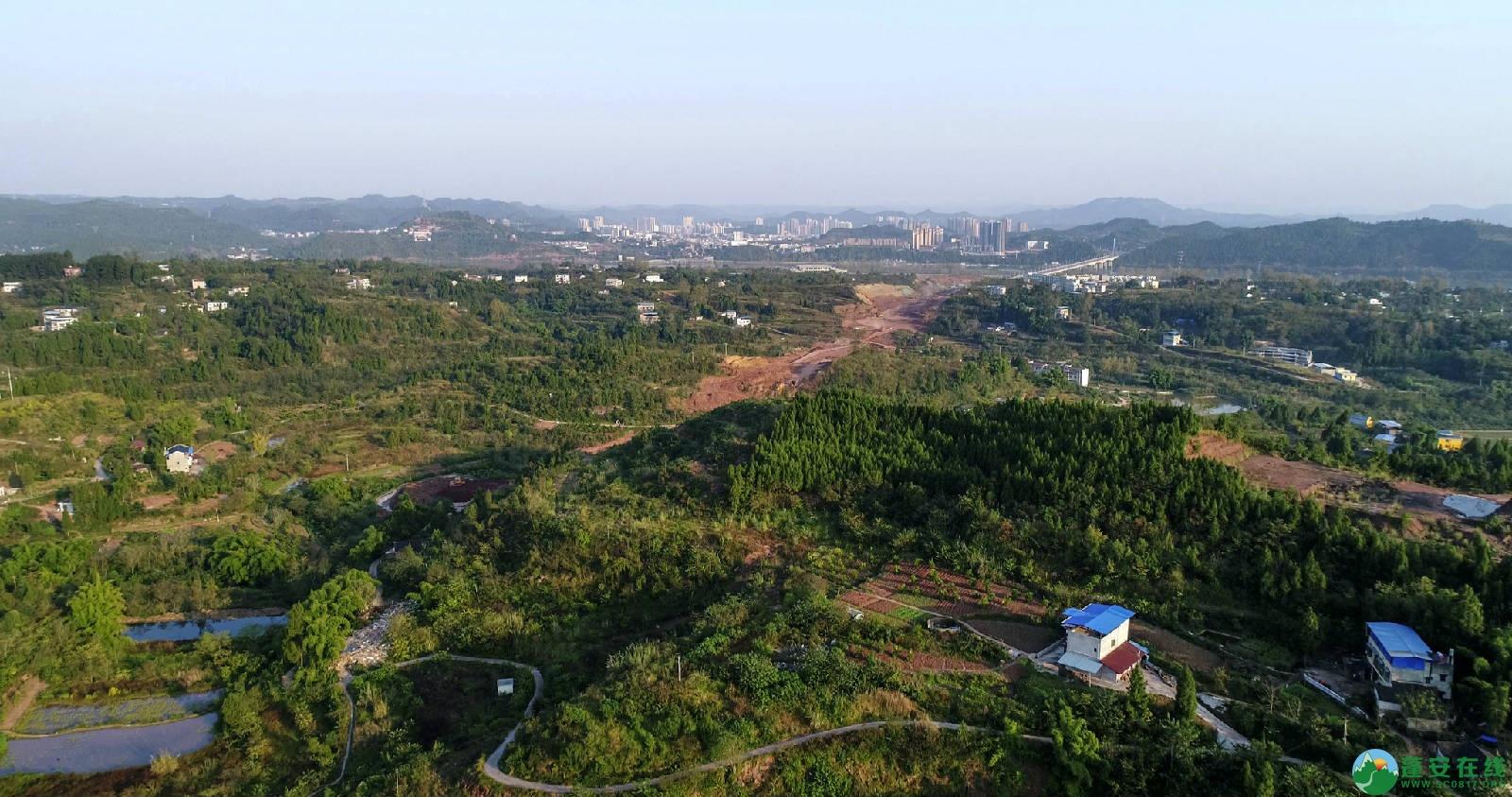 凤凰大桥西延线工程进展(2018年11月3日) - 第4张  | 蓬安在线