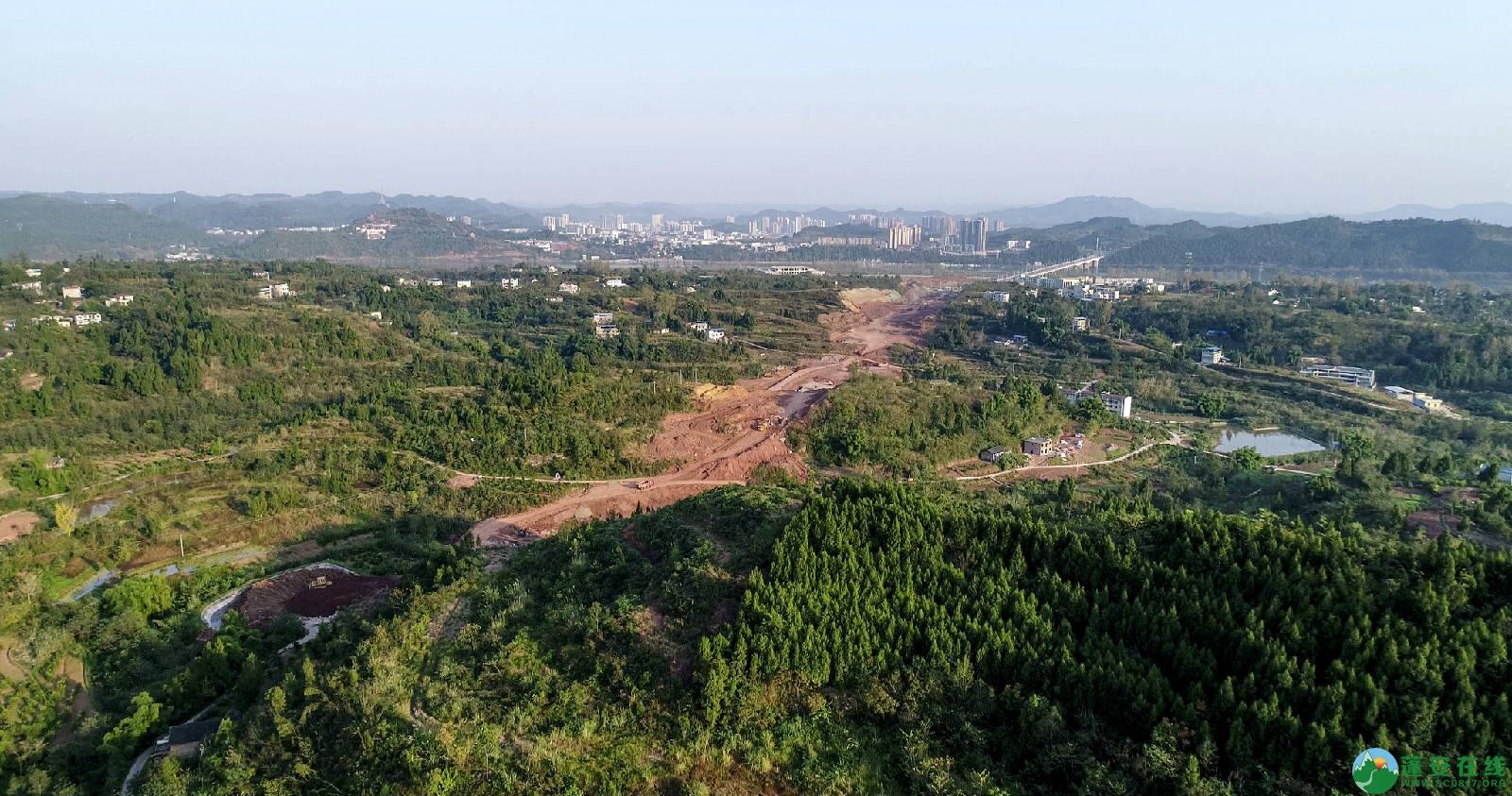 凤凰大桥西延线工程进展(2018年11月3日) - 第5张  | 蓬安在线