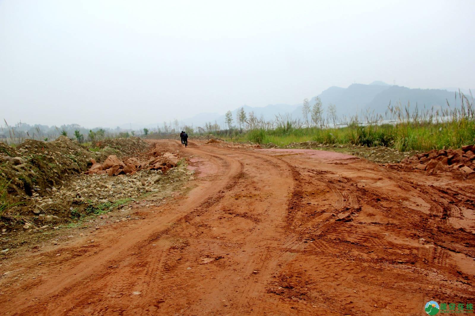 蓬安锦屏湿地公园嘉陵江跑道建设进度 - 第5张  | 蓬安在线