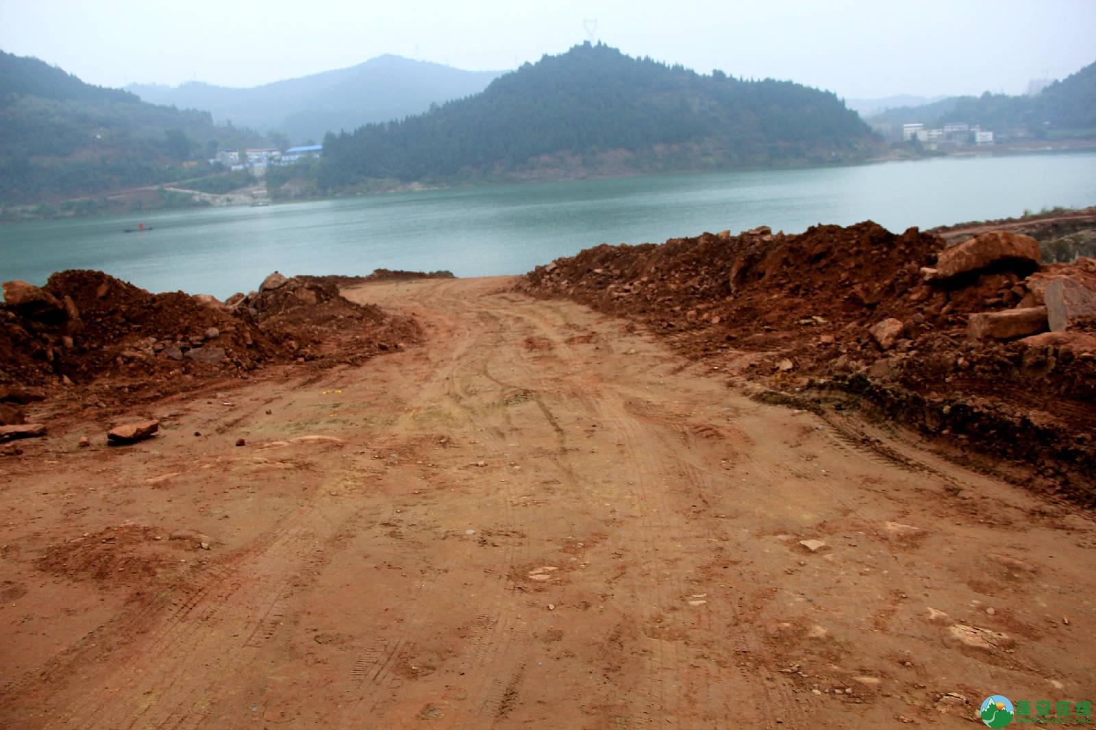 蓬安锦屏湿地公园嘉陵江跑道建设进度 - 第6张  | 蓬安在线