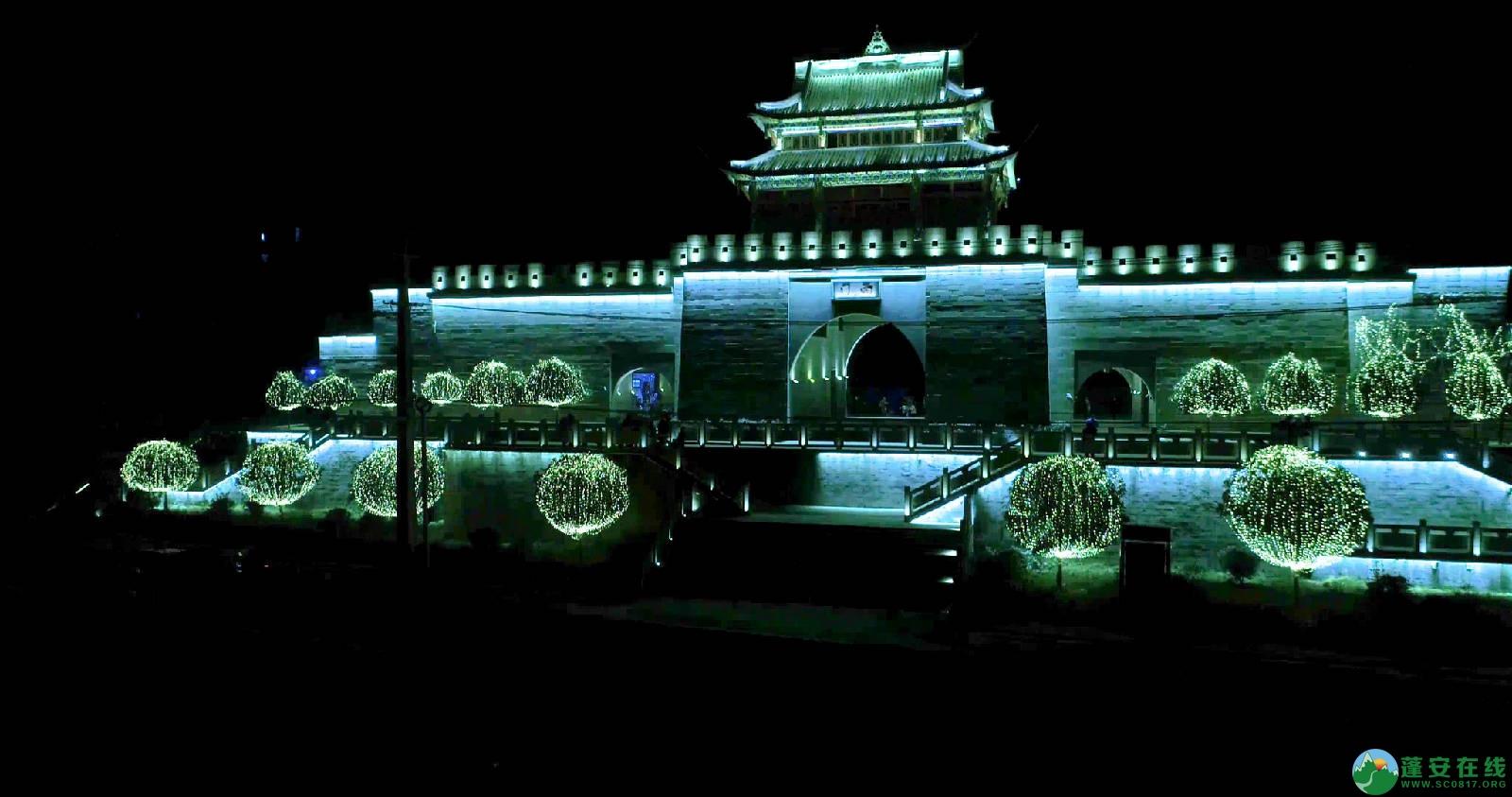 临近春节的蓬安夜色 - 第2张  | 蓬安在线