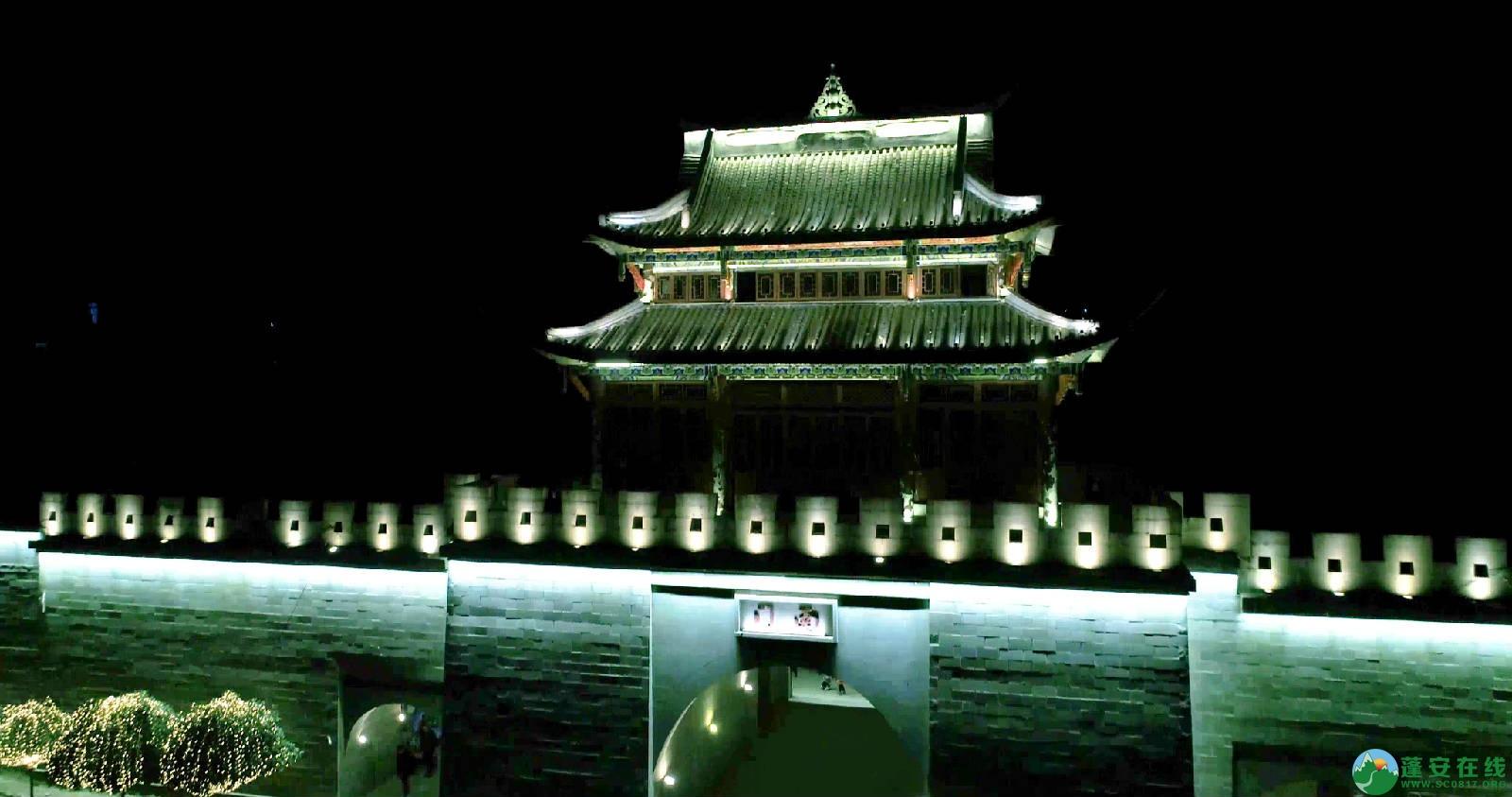 临近春节的蓬安夜色 - 第3张  | 蓬安在线