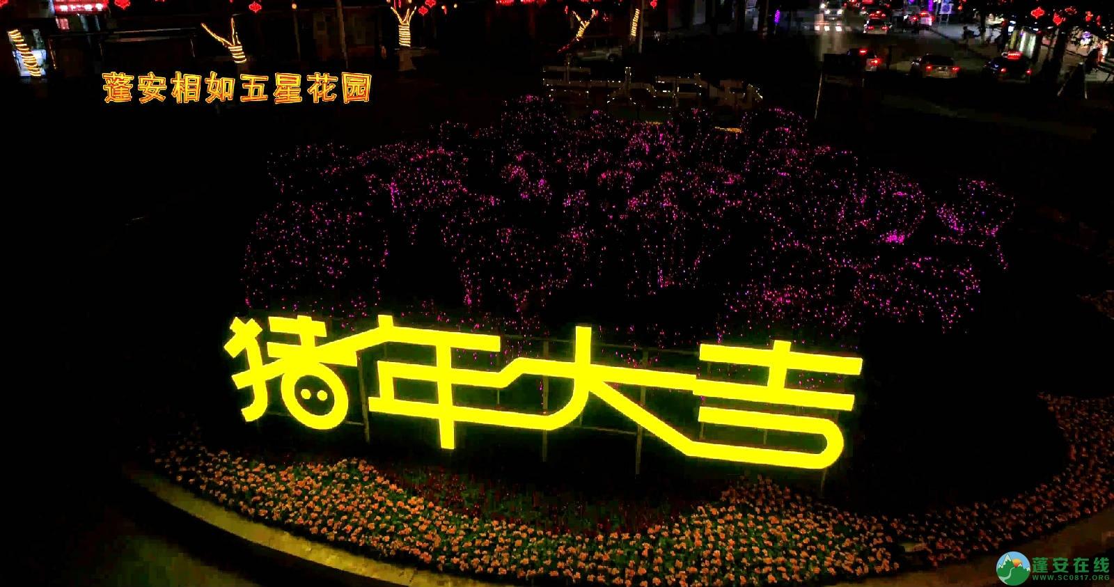 临近春节的蓬安夜色 - 第7张  | 蓬安在线