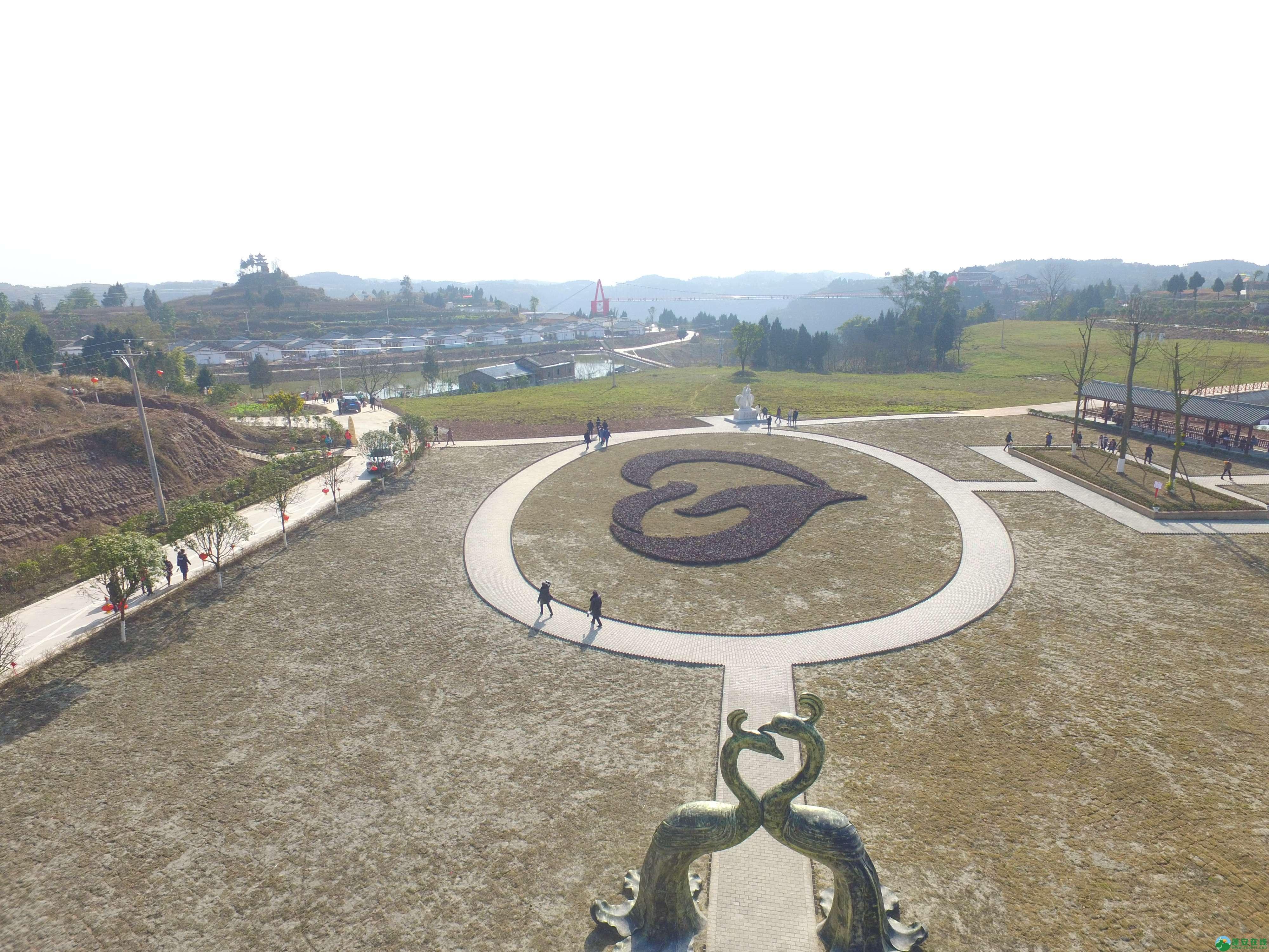 蓬安县正源镇红豆村首个悬空玻璃吊桥正式开放 - 第5张  | 蓬安在线