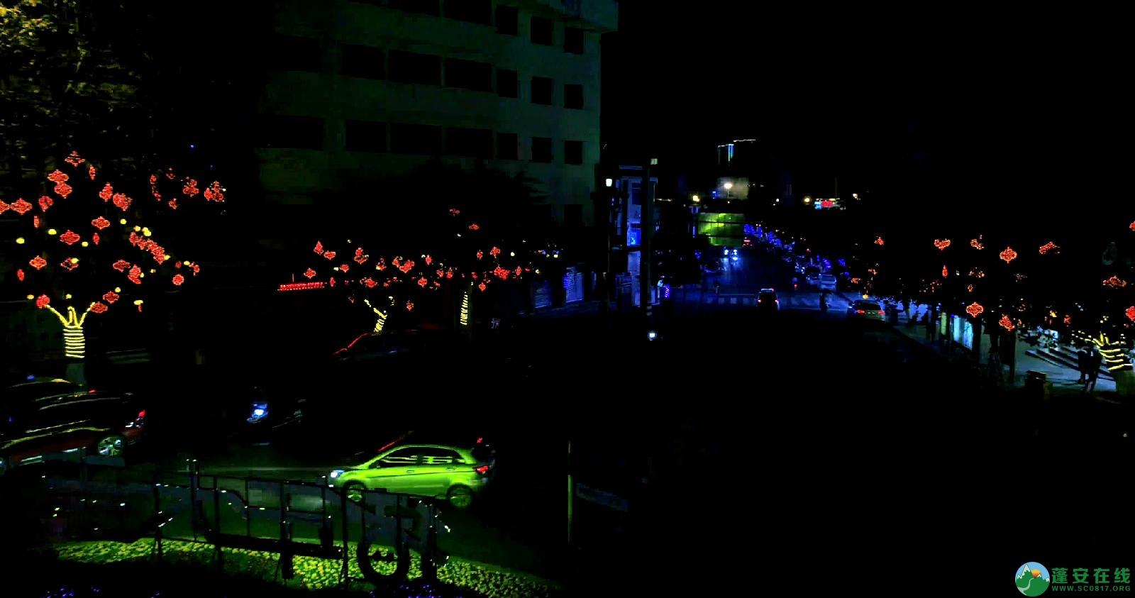 临近春节的蓬安夜色 - 第11张  | 蓬安在线
