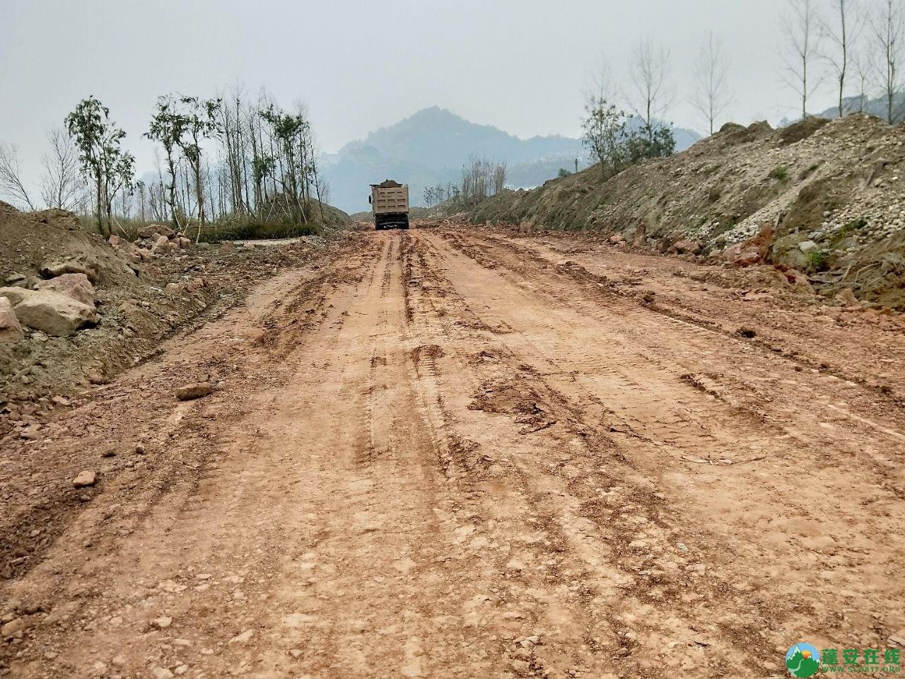 蓬安锦屏湿地公园漫步跑道修建进度(2019年1月13日) - 第5张  | 蓬安在线