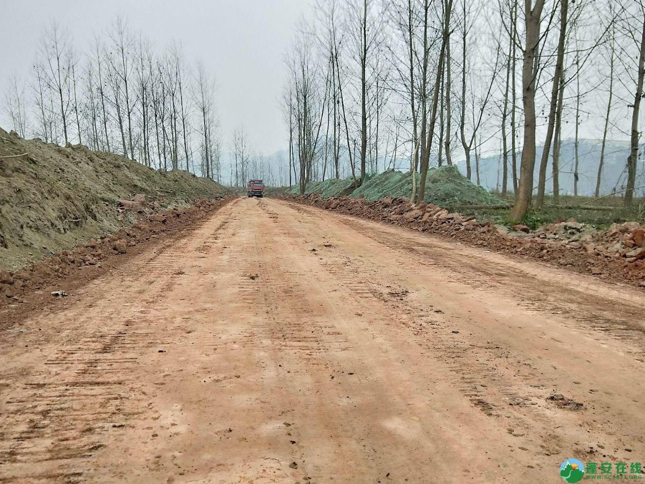 蓬安锦屏湿地公园漫步跑道修建进度(2019年1月13日) - 第6张  | 蓬安在线