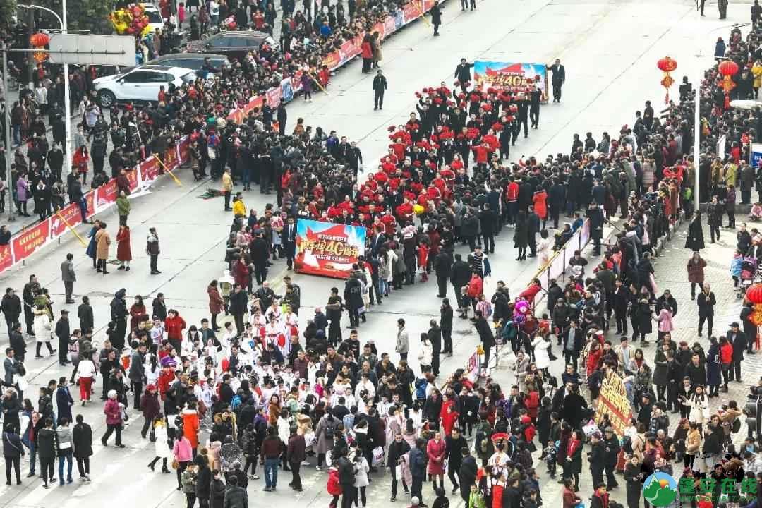 蓬安县2019年迎新春民间民俗街头文艺巡演精彩片段 - 第20张  | 蓬安在线