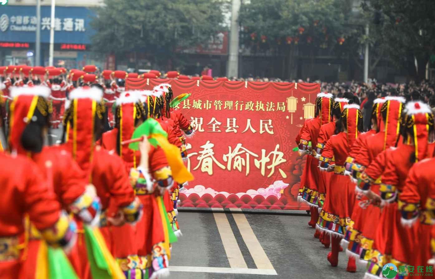 蓬安县2019年迎新春民间民俗街头文艺巡演精彩片段 - 第16张  | 蓬安在线