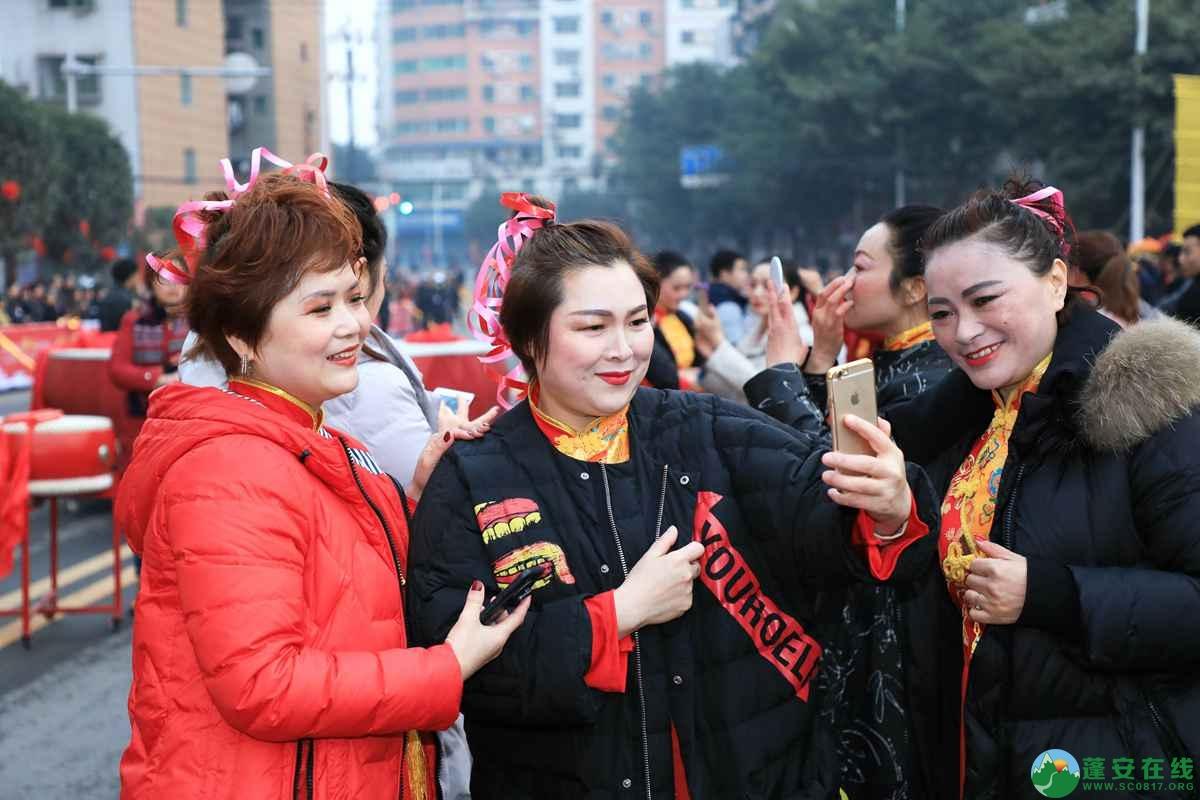 蓬安县2019年迎新春民间民俗街头文艺巡演精彩片段 - 第8张  | 蓬安在线