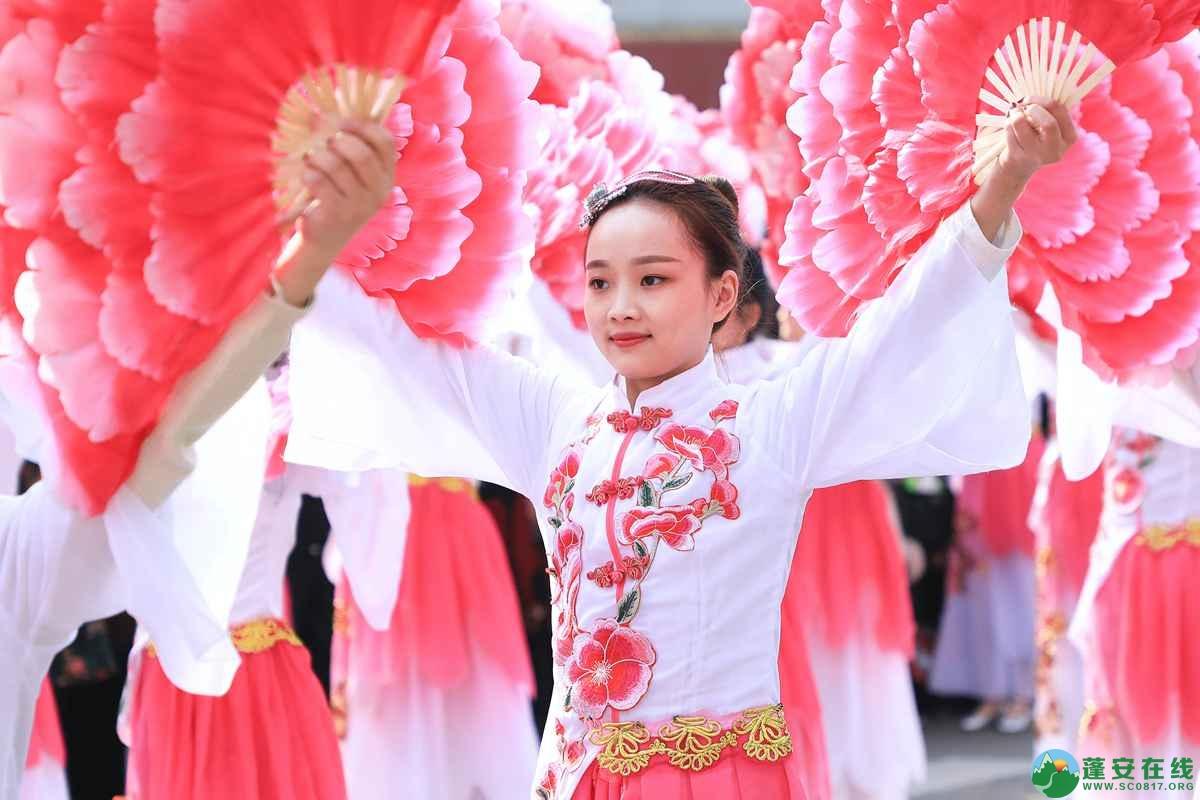 蓬安县2019年迎新春民间民俗街头文艺巡演精彩片段 - 第22张  | 蓬安在线