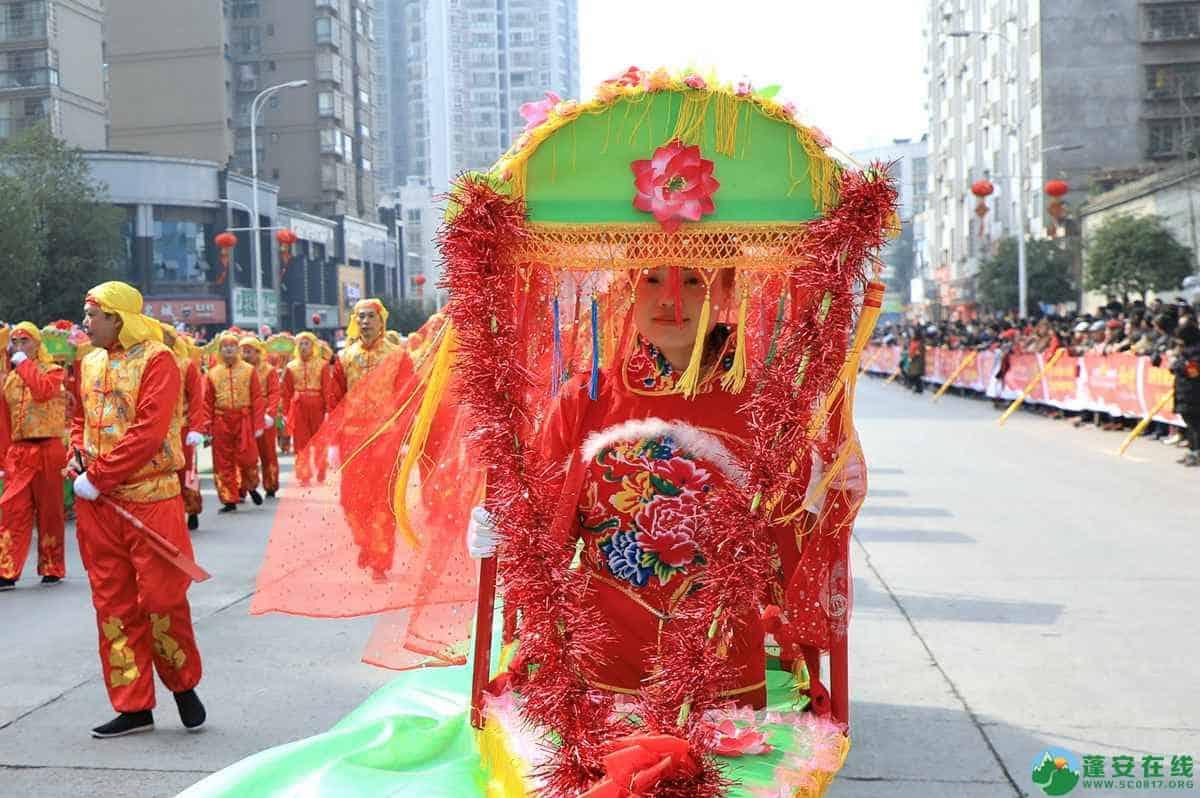 蓬安县2019年迎新春民间民俗街头文艺巡演精彩片段 - 第28张  | 蓬安在线