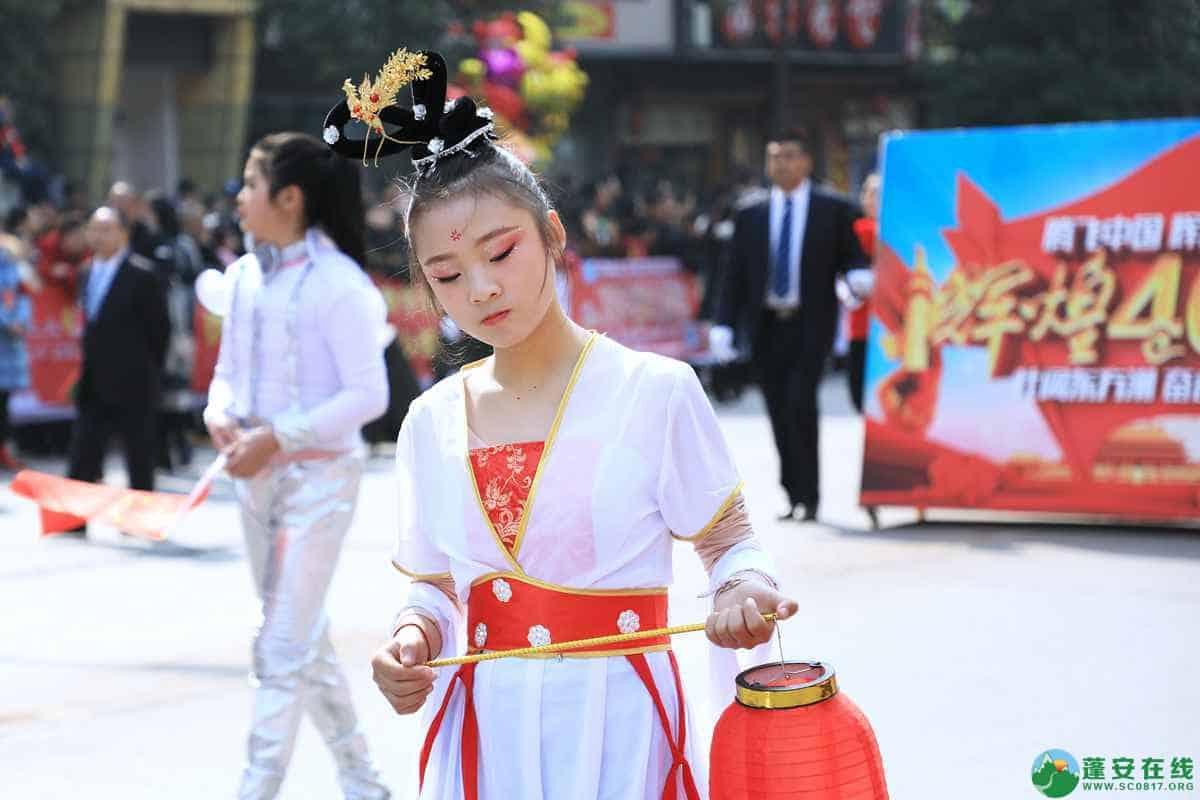 蓬安县2019年迎新春民间民俗街头文艺巡演精彩片段 - 第33张  | 蓬安在线