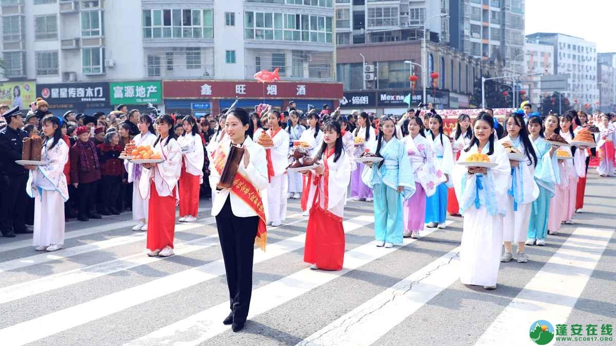 蓬安县2019年迎新春民间民俗街头文艺巡演精彩片段 - 第38张  | 蓬安在线