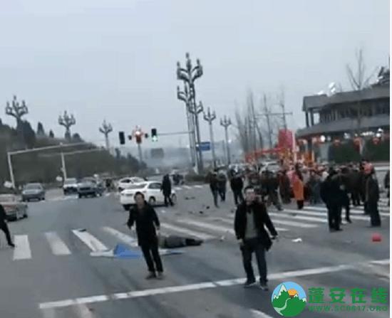蓬安凤凰大道与棉麻路T字路口发生严重交通事故(2019年2月28日18时) - 第6张  | 蓬安在线