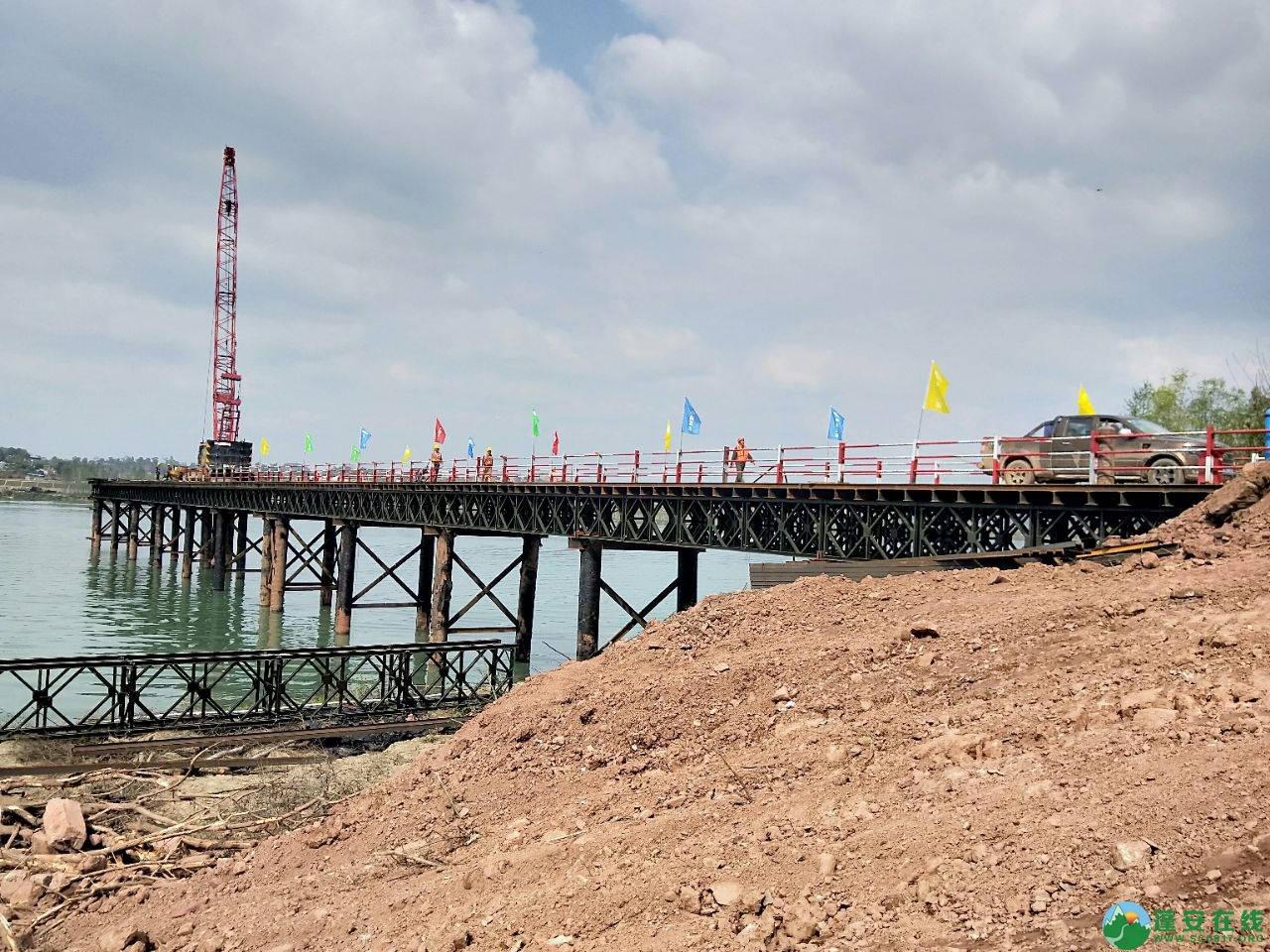 蓬安嘉陵江三桥新进展(2019.3.18) - 第12张  | 蓬安在线