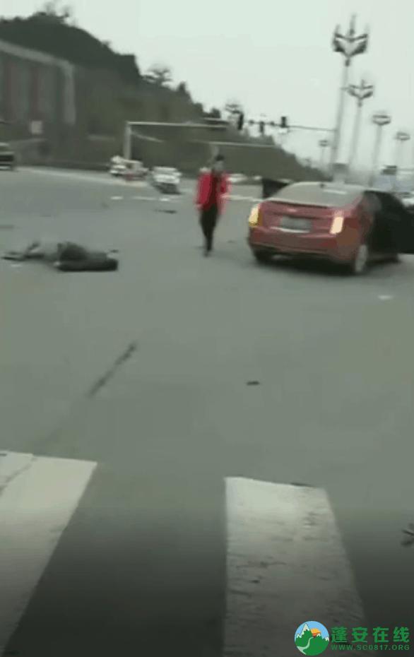 蓬安凤凰大道与棉麻路T字路口发生严重交通事故(2019年2月28日18时) - 第11张  | 蓬安在线