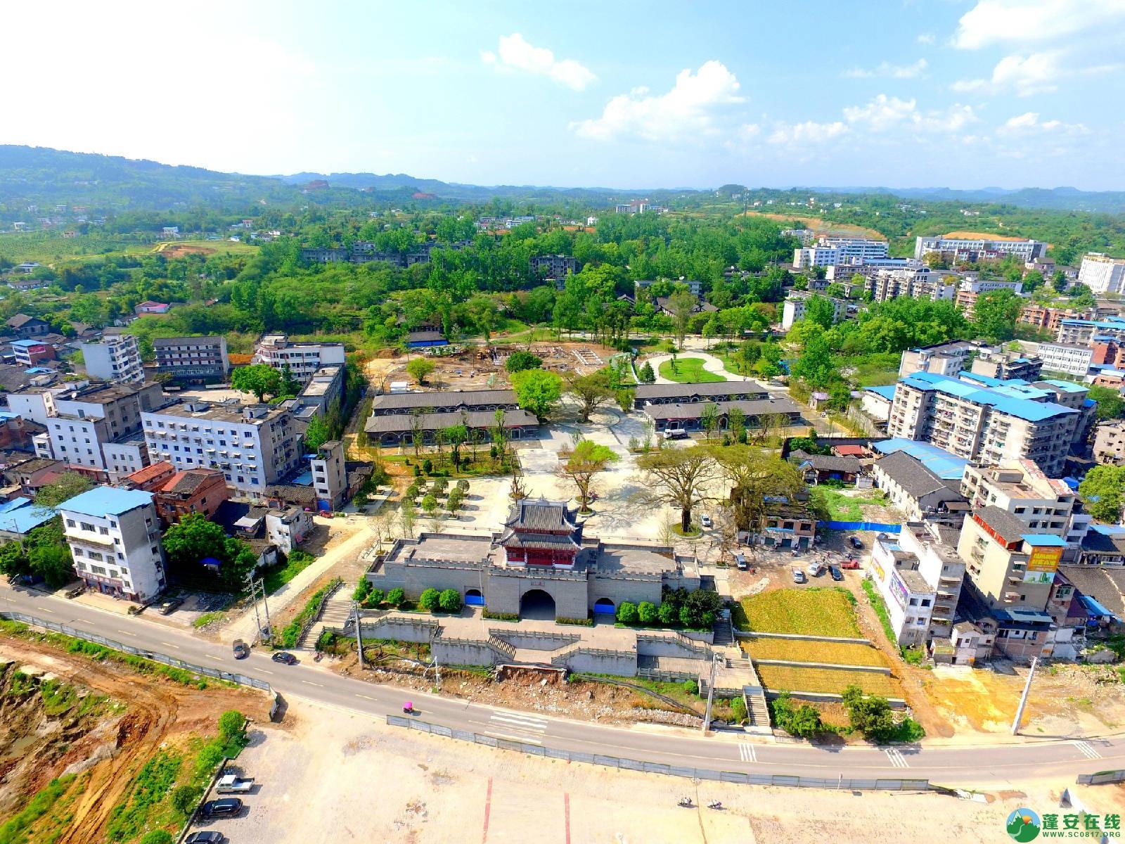 蓬安县相如故城建设进展!(2019年4月21) - 第1张  | 蓬安在线