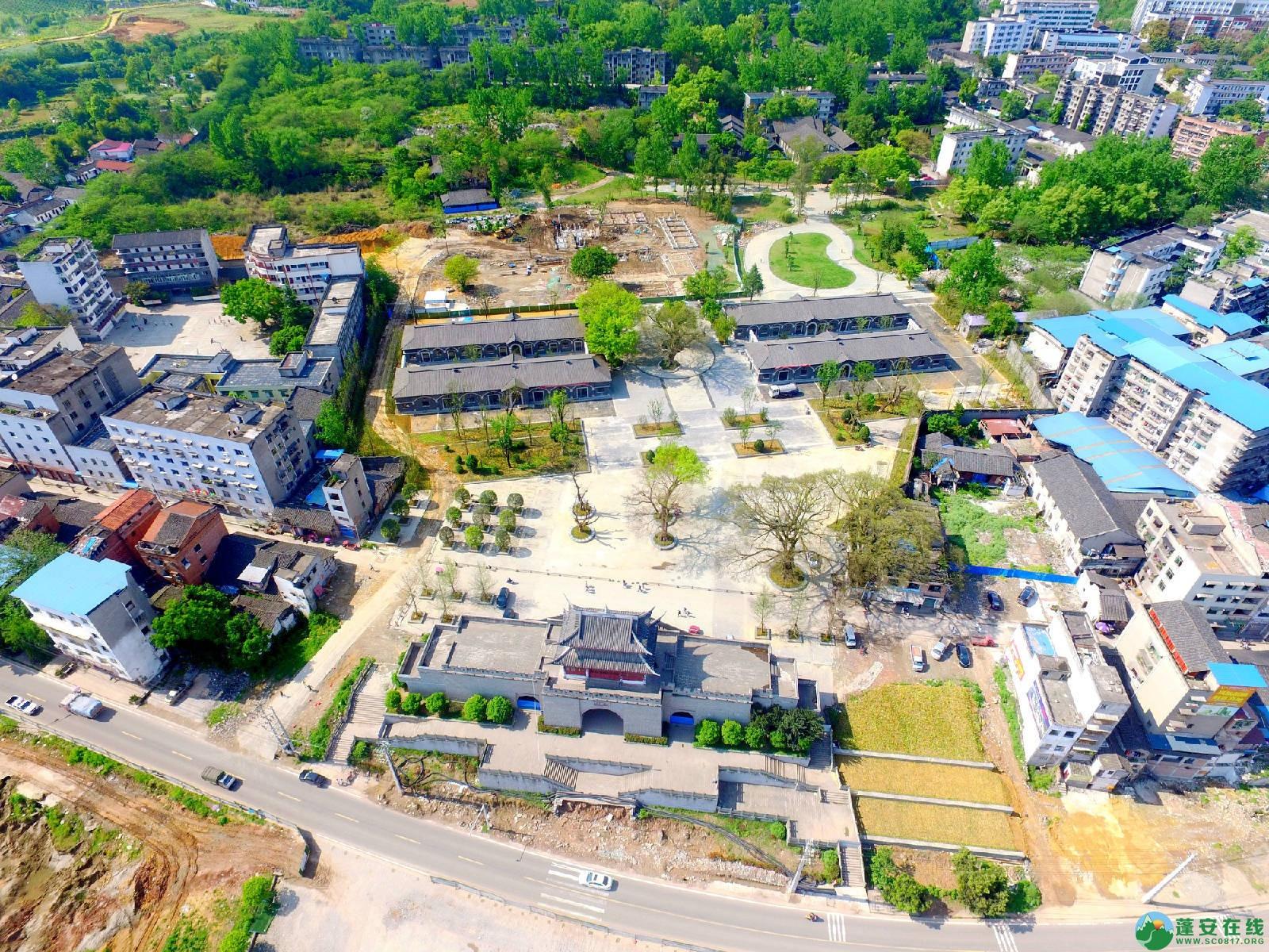 蓬安县相如故城建设进展!(2019年4月21) - 第2张  | 蓬安在线