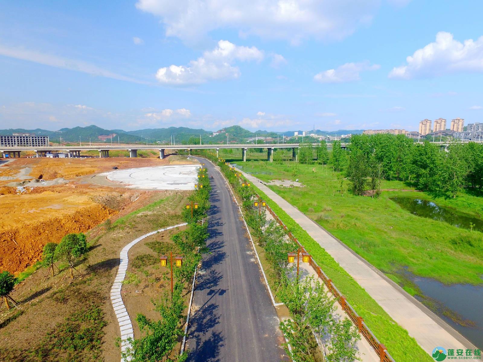蓬安县相如故城建设进展!(2019年4月21) - 第5张  | 蓬安在线