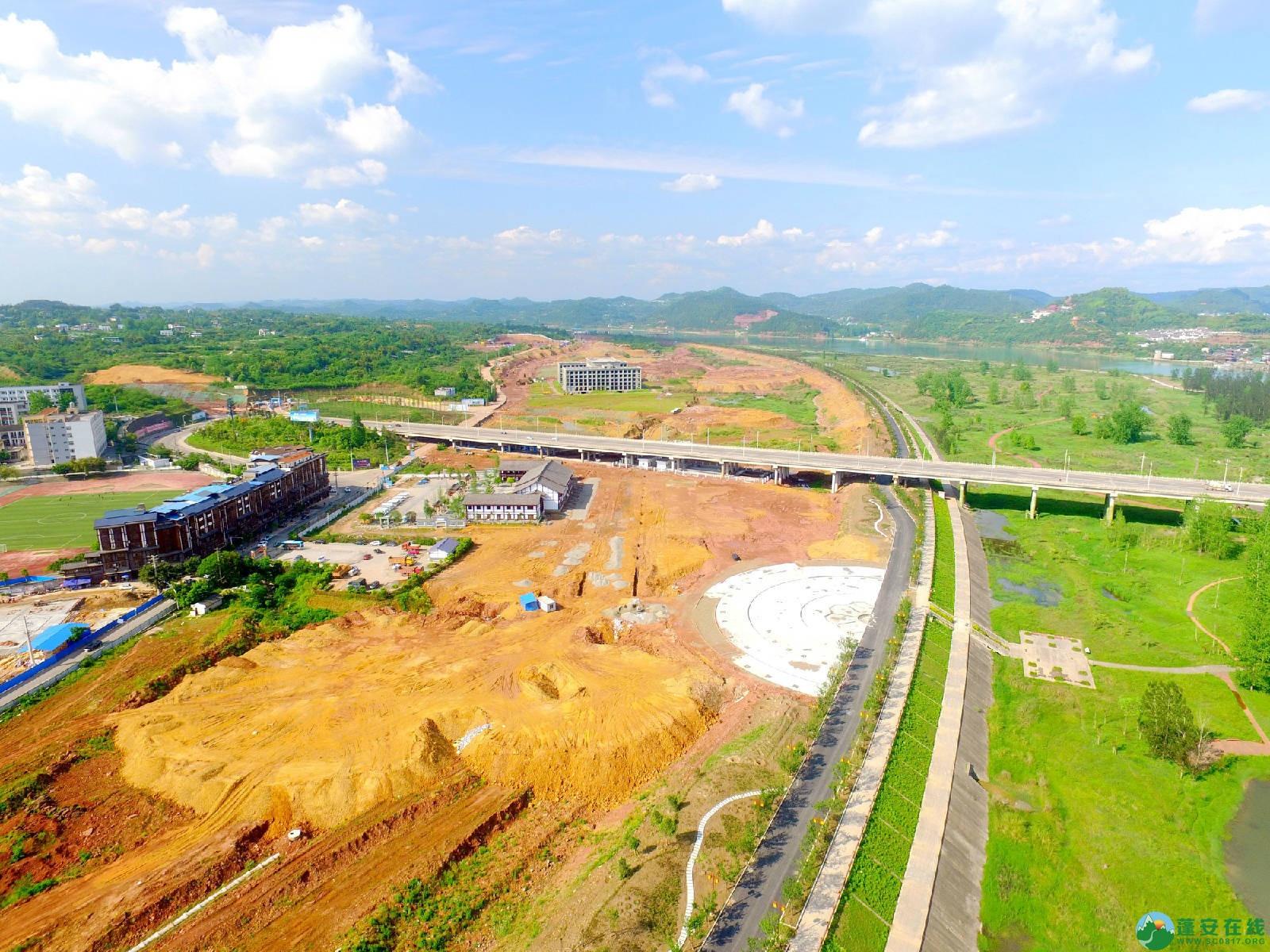 蓬安县相如故城建设进展!(2019年4月21) - 第12张  | 蓬安在线