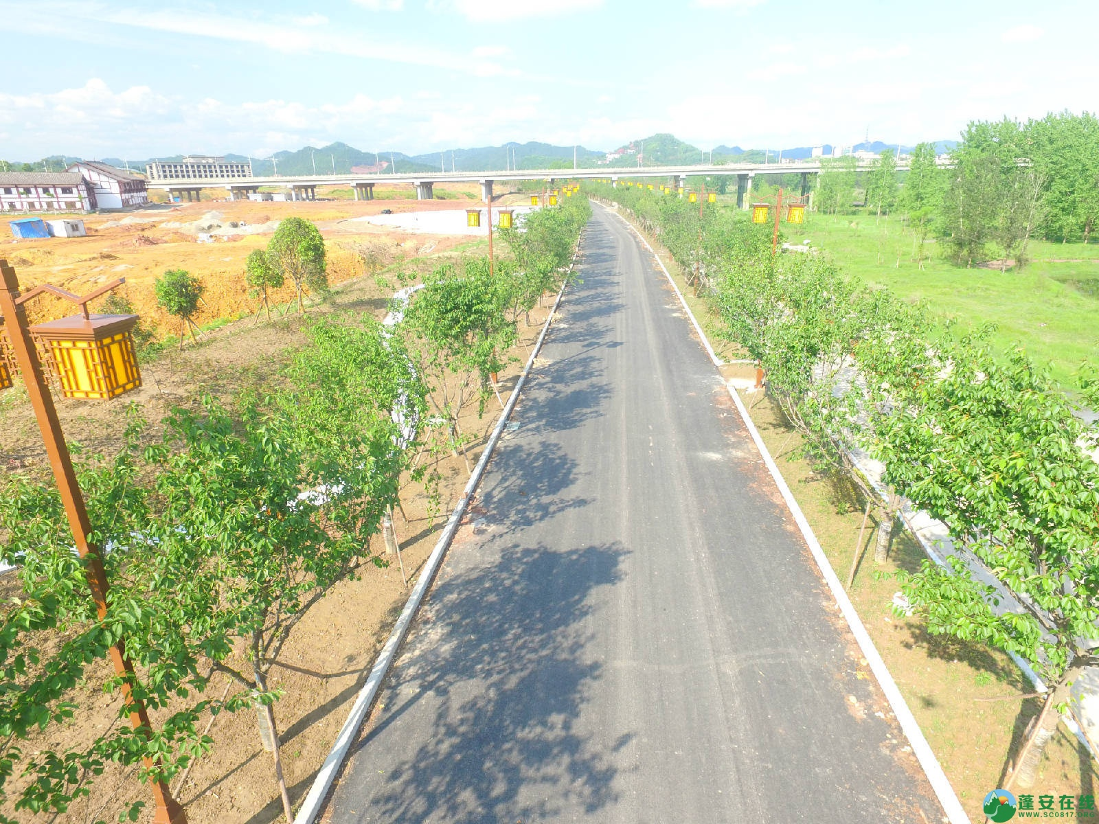 蓬安县相如故城建设进展!(2019年4月21) - 第15张  | 蓬安在线
