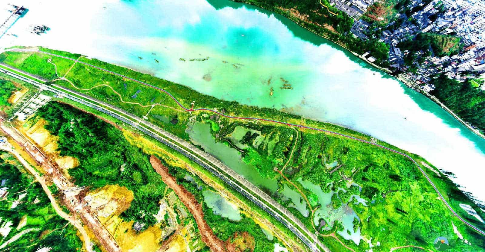 蓬安锦屏湿地公园双色跑道 - 第10张  | 蓬安在线