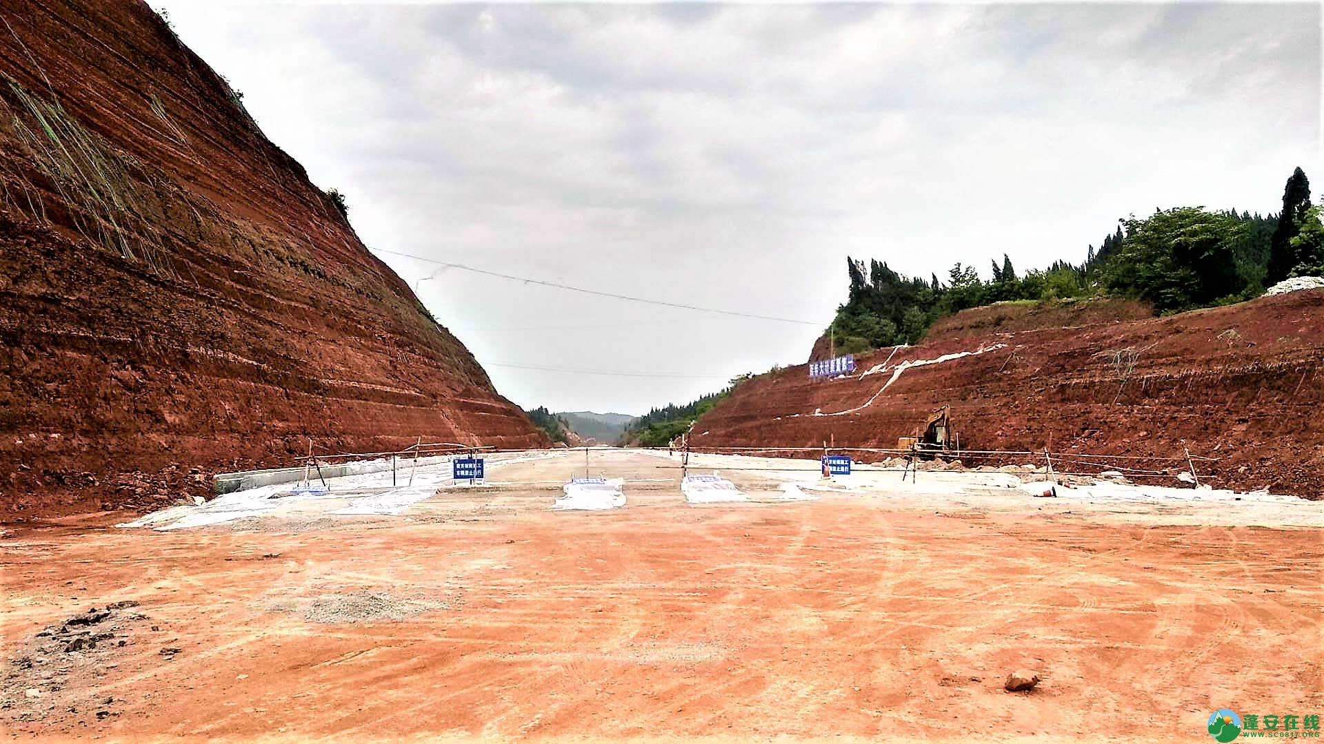 顺蓬营一级公路蓬安段最新进展(2019年05月28日) - 第3张  | 蓬安在线