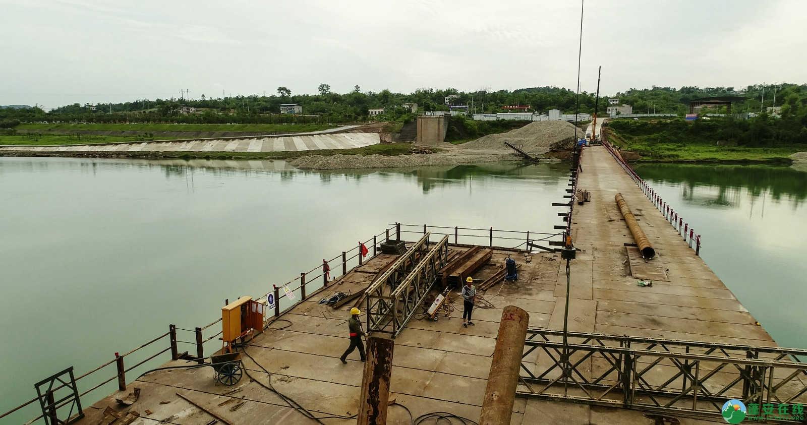 蓬安嘉陵江一桥修建进(2019年5月11日) - 第4张  | 蓬安在线