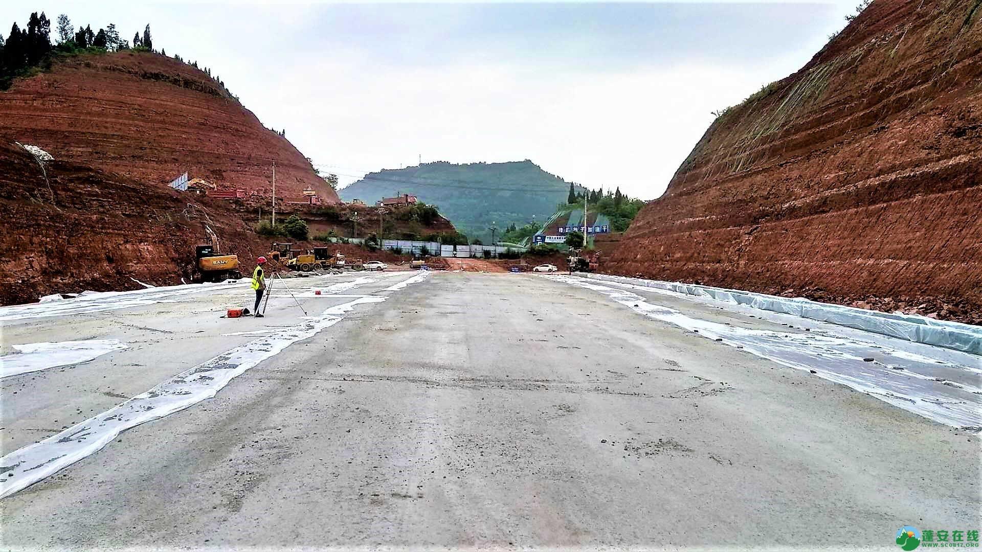 顺蓬营一级公路蓬安段最新进展(2019年05月28日) - 第4张  | 蓬安在线