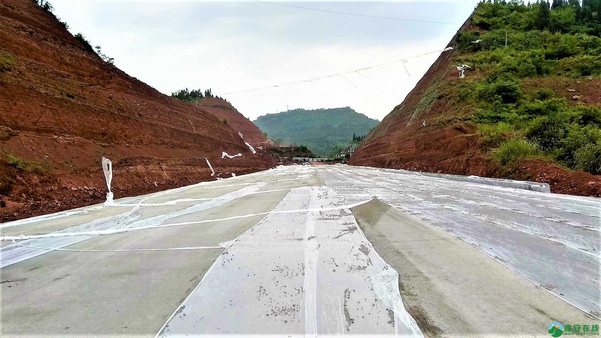 顺蓬营一级公路蓬安段最新进展(2019年05月28日) - 第7张  | 蓬安在线