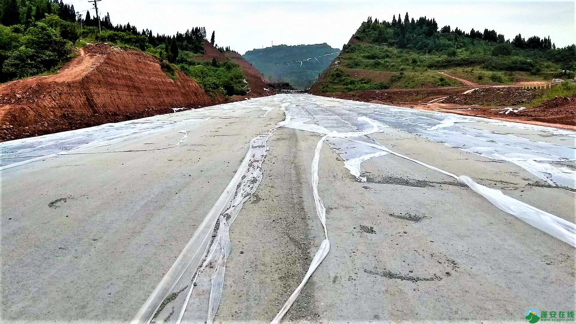 顺蓬营一级公路蓬安段最新进展(2019年05月28日) - 第8张  | 蓬安在线