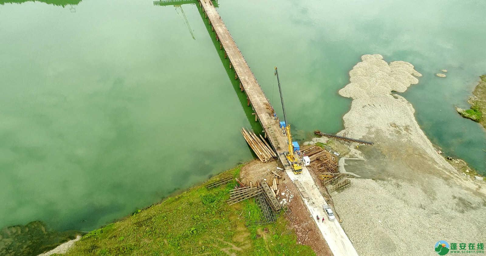 蓬安嘉陵江一桥修建进(2019年5月11日) - 第13张  | 蓬安在线