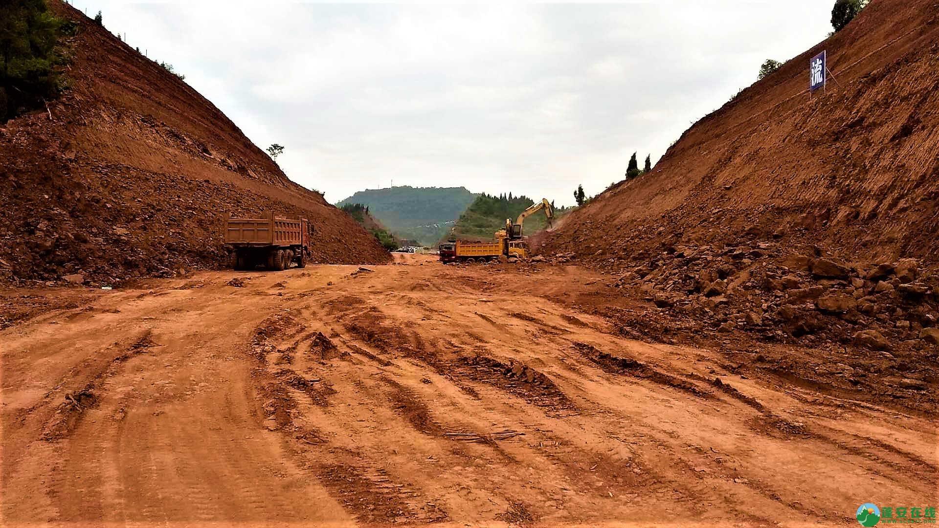 顺蓬营一级公路蓬安段最新进展(2019年05月28日) - 第15张  | 蓬安在线