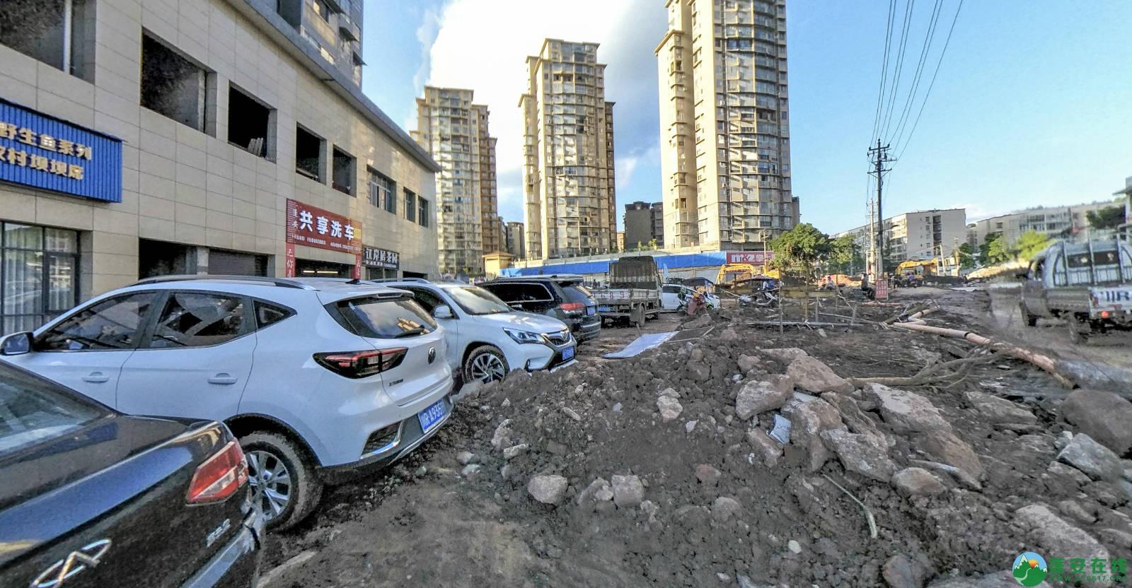 蓬安县嘉陵西路改建工程进展(2019-06-16) - 第6张  | 蓬安在线