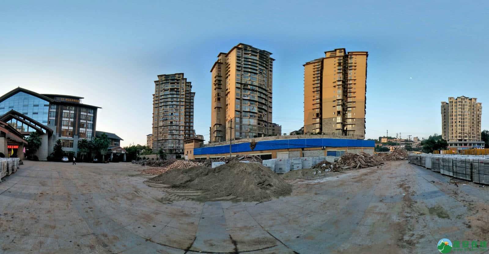 蓬安县嘉陵西路改建工程进展(2019-06-16) - 第9张  | 蓬安在线