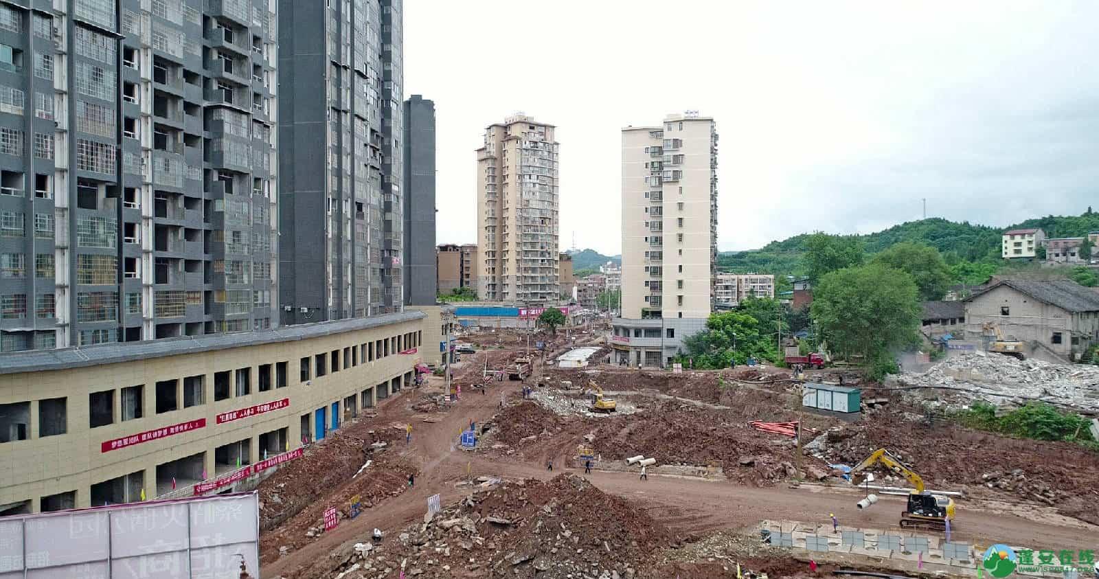 蓬安县嘉陵西路改建工程进展(2019-06-16) - 第10张  | 蓬安在线